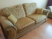 2 x DFS 3 seater Sofa's.