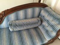 Antique chaise lounge sofa,
