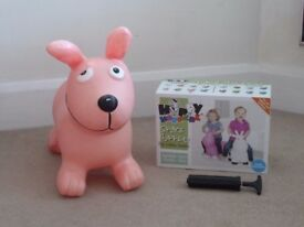 Happy Hopperz Space Hopper / Bouncer Pink Dog