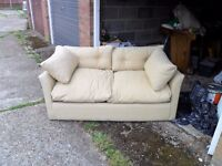 Fold up bed settee,clean and tidy,
