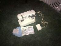 E & R Super Utility Sewing Machine