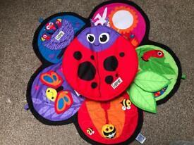Tomy Lamaze Spin & Explore Ladybug Garden Gym Toy
