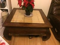 Attractive Solid wooden coffee table