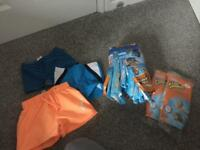 Swimwear and swim nappies bundle