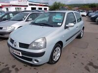 *RENAULT CLIO EXTREME 1.1*2004*FULL YEARS MOT*ALLOYS*IDEAL FIRST CAR*BARGAIN TRADE IN TO CLEAR £895*