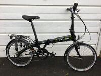 Dahon Vybe D7 Folding Bike - Blue / Black
