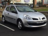 RENAULT CLIO 1.2 PETROL 2007 (07 REG)**£1499**LONG MOT*PANORAMIC ROOF*LOW MILES*PX WELCOME*DELIVERY