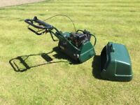 Petrol balmoral 20se lawnmower with scarifier offers considered