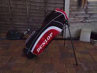 Good condition DUNLOP golf bag