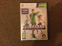 Your Shape Fitness Evolved 2012* XBOX 360 KINECT GAME AMAZING BEST EXCERCISE FIT