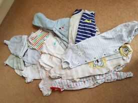16 baby boys items for sale