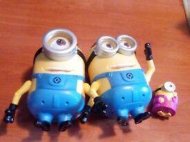 Minions talking toys