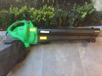 Electric leaf blower / hoover