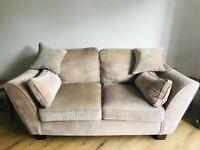 Sofa and snuggle chair
