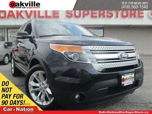 2013 Ford Explorer XLT | LEATHER | SUNROOF | CHROME RIMS | B/U C