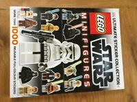 BRAND NEW Lego Star Wars Ultiamte sticker collection