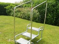 3 Tier steps made for easy access to caravan or motor-home.