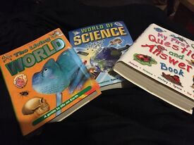3 educational books