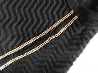Black and diamanté women's tracksuit