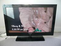 "Samsung 40"" digital ready flatscreen TV"