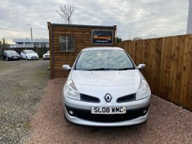 2008 08 RENAULT CLIO 1.1 EXPRESSION 16V 5d 75 BHP***GUARANTEED FINANCE***PART EX WELCOME***