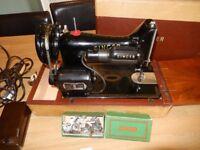Rare Vintage electric Singer Sewing Machine 99K with Original Singer Motor
