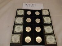 Silver Shield OLIGARCHY X 8oz .999 fine silver Reverse Proof Coins COA boxed