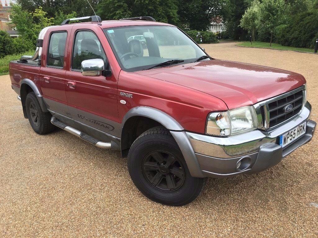 2006 ford ranger xlt wild trak top spec low miles clean bargain no vat