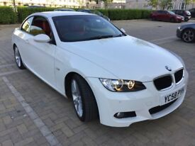.2008 BMW 320D 2.0D M SPORT CONVERTIBLE 6 SPEED MANUAL TOP CONDITION.