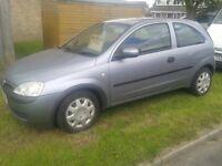 Vauxhall corsa 1lt. 6 months mot