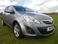 ** 2011 Vauxhall Corsa Sxi 5 door 1 Years MOT **