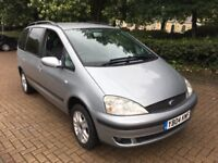 2004 FORD GALAXY 1.9 TDI GHIA 7 SEATER AUTOMATIC 12 MONTHS MOT FULL SERVICE HISTORY