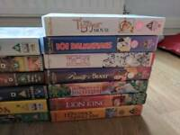 VHS assorted titles