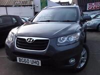 Hyundai Santa Fe 2.2 CRDi Premium 5dr [5 Seats] (grey) 2010