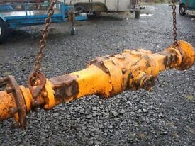 axels jcb shovel site dumper