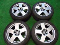 """AUDI A3, TT, VW GOLF MK4, BETTLE, BORA, 16"""" SPEEDLINE ALLOY WHEELS 5 x 100"""