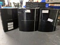 Sony Playstation 3 Backwards Compat. - Faulty - Ideal for parts (5 available)