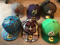 Various New era fitted caps for sale