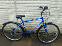 mens professional hybrid bike new lights ,lock serviced ready to ride free delivery
