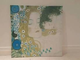 Mother & Child Gustav Klimt Print
