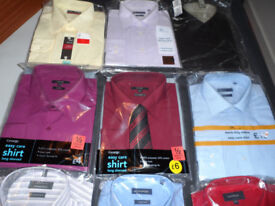 Gents Brand New Shirts size 17.5 Still in Packaging