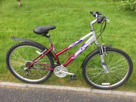 Mountain Bike Raleigh Explore LX. Ladies/Teens model . 26 inch wheels. Pristine condition.