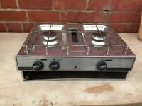 Spinflo two burner hob. spares or repairs.