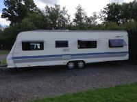 Hobby excellent 710 with new kampa 400 awning