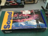 Sound Blaster Live PCI Sound Card Boxed