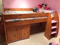 Stompa Mid Sleeper Bed with Matching Furniture