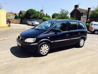 ZAFIRA 1.6 EXCELLENT CONDITION/FULL SERVICE HISTORY/NEW BATTERY/NEW TIMING BELT WATERPUMP/7 SEATER/