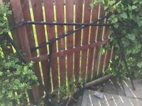 Metal stair rails