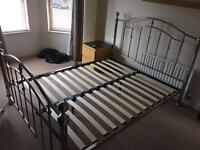 **SOLD** King size Bed (no mattress Inc) from Creations