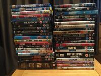 40 DVDs all in excellent condition.